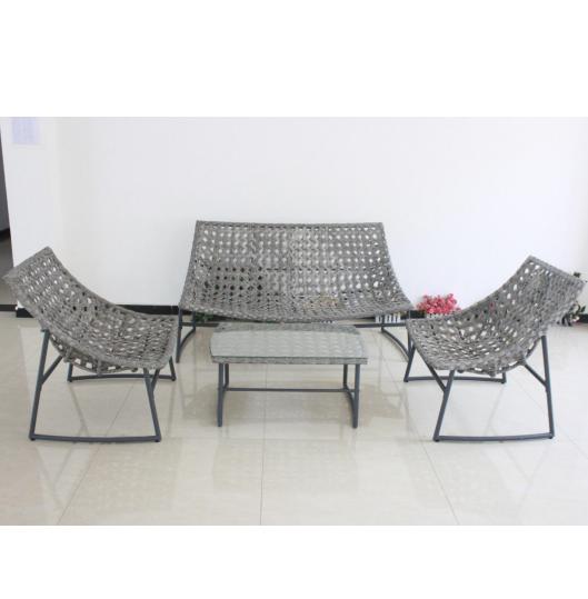 De alta calidad al aire libre jardín Muebles de ratán estilos muy popular en el mercado