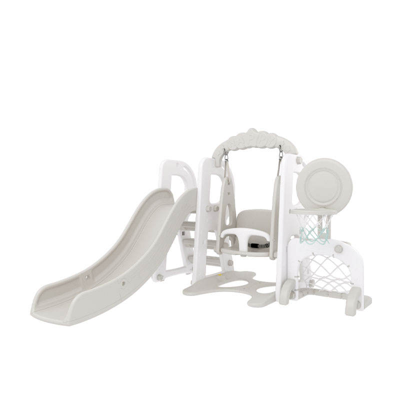 Kids Indoor Playground Toy Plastic Toddler Baby Play Slide and Swing Set Wholesale