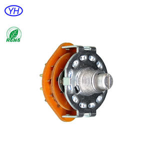 25mm 4 positions 500V 100A rotary voltage selector switch