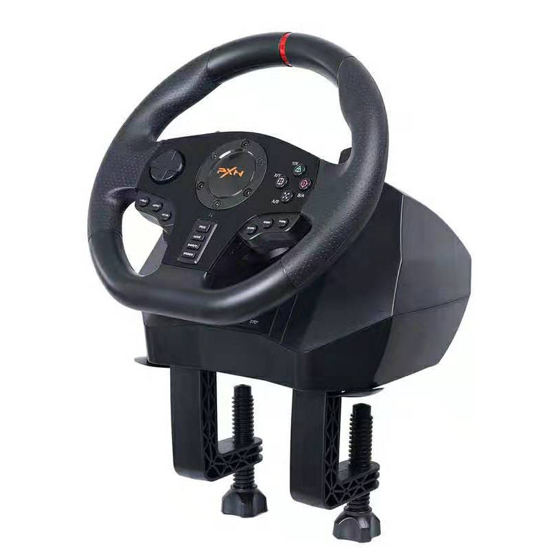 PXN V900 Gaming Racing Wheel for Driving Game Euro Truck Need for Speed on PC PS3 PS4 XBOX Switch