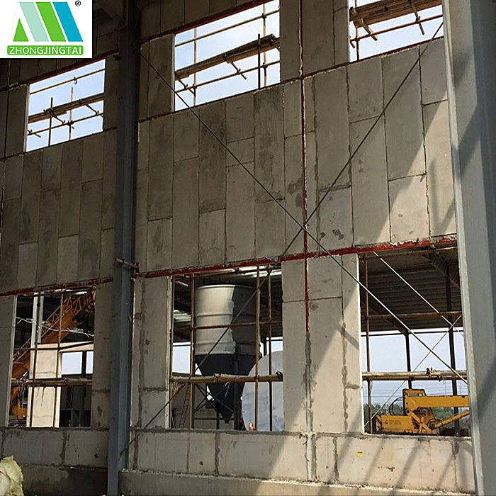 Fast construction and easy transport EPS cement sandwich wall panel for villa/hotel/house