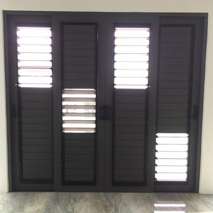 Optima 11 Einstellbar Outdoor Aluminium Louvre Windows/Aluminium Shutter Fenster