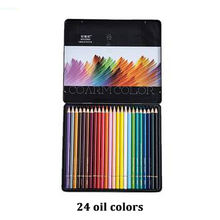 NYONI 2020 new 24 colours oil color pencil color set