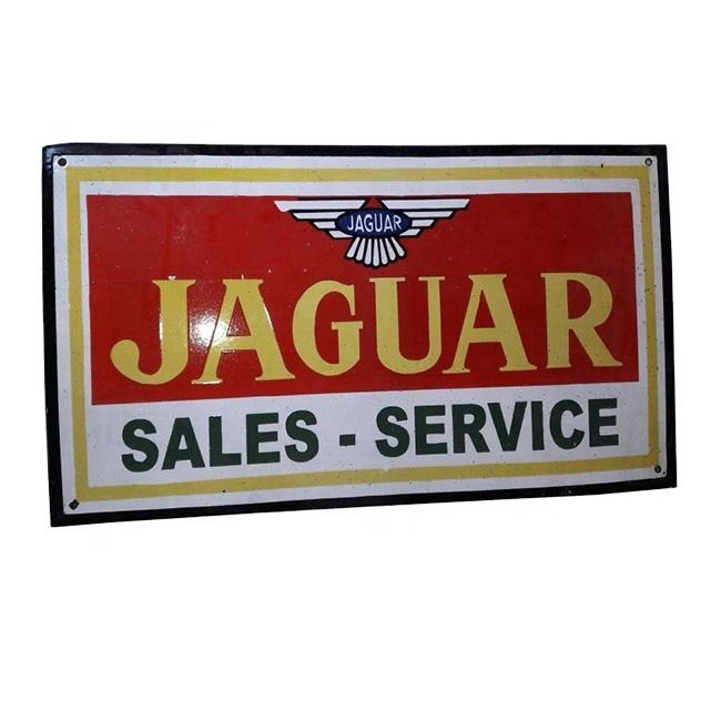 Car Sales - Service Vintage Cast Iron Wall Sign