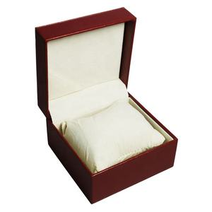 custom watch box luxury Red PU Leather watch boxes
