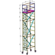 High Strength Aluminum Portable Mobile Multifunction Scaffolding Tower