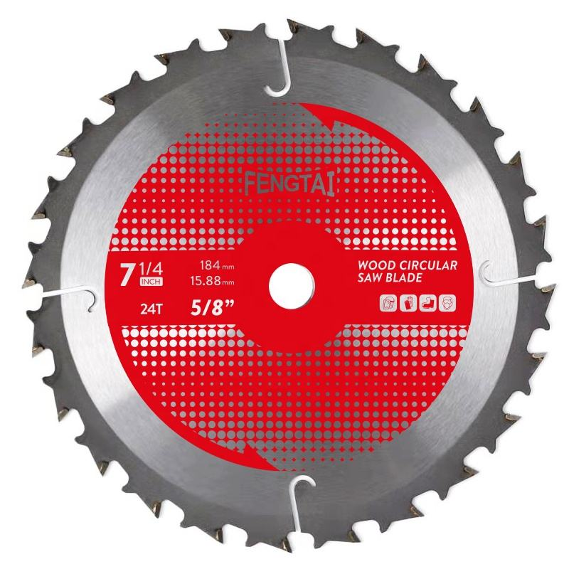 "Circular Saw Blade 7 1/4インチ24 Tooth Carbide TCT Cutter 5/8 ""Arbor"
