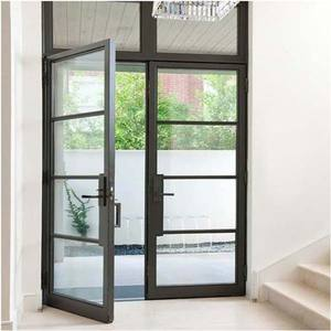 Good practicability thermal break choice aluminum patio french door with screen design