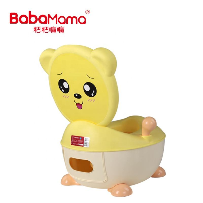 Cartoon Potty Baby Plastic Toilet Girls Boy Portable Potty Seat Folding Chair Cute Frog Drawer Training Potty Children's Toilet