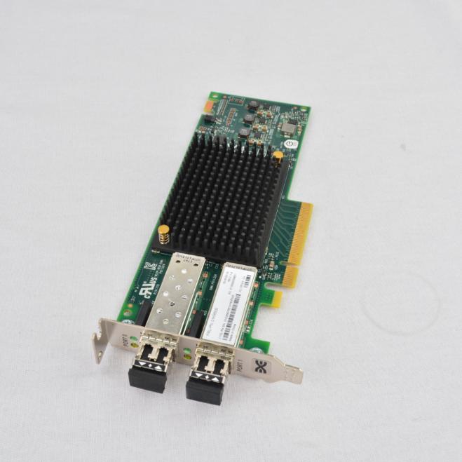 IBM 10GB PCI Express Dual-Port Fibre Channel Adapter 49Y4202 High Profile GradeA