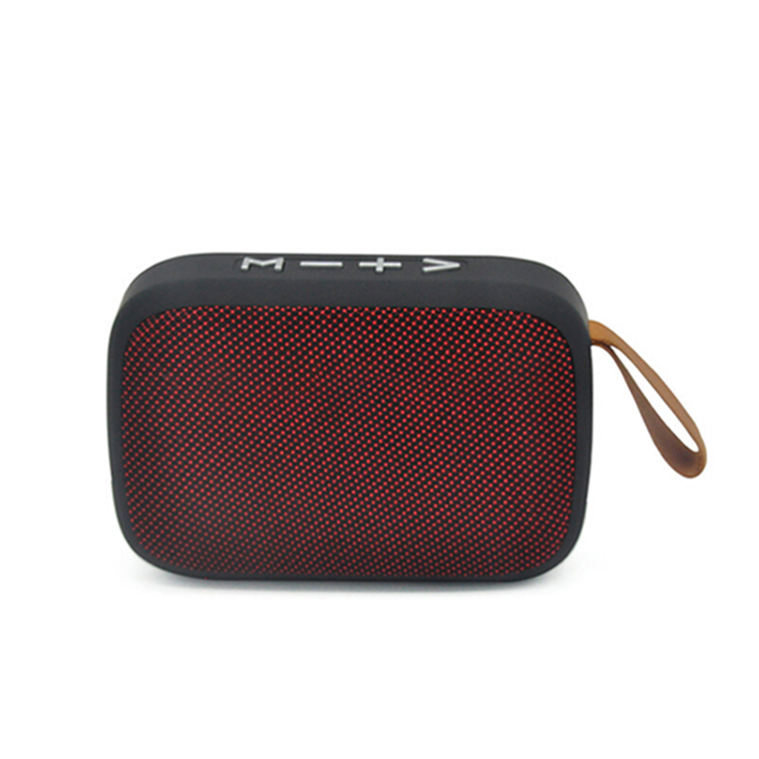 Best design Promotional Fabric texture Portable Wireless Speaker Mini Bluetooths Speaker with FM/USB/TF