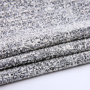 New products weft knitted stretch cotton polyester blend jacquard fabric designs