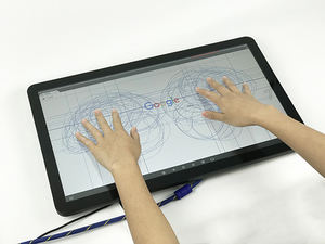 21.5 Inch Touch Lcd/Led Monitor Ultra Breed Touchscreen Voor Reclame Kiosk Gokken Monitor