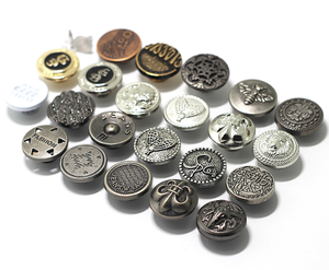 Customize coat jeans buttons pin metal logo button gold plated irregular shape shank jeans buttons and rivets for Denim Jeans