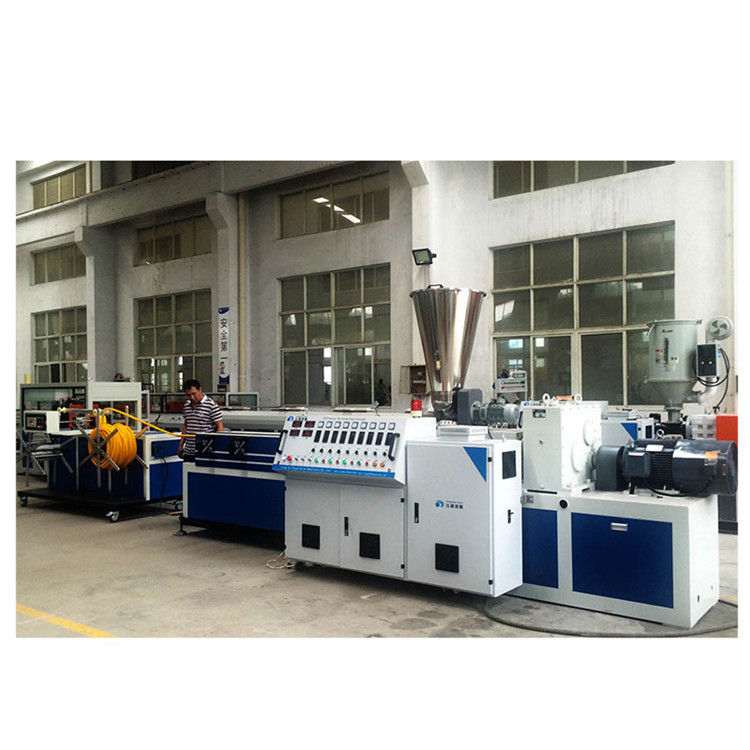 PP PE PVC corrugated pipe making machine price/plastic flexible pipe extrusion machine line price