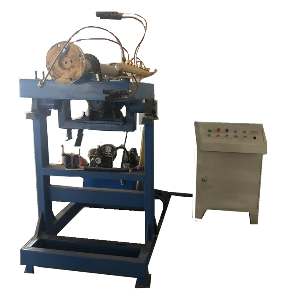 Small open flame rotomolding machine made in China