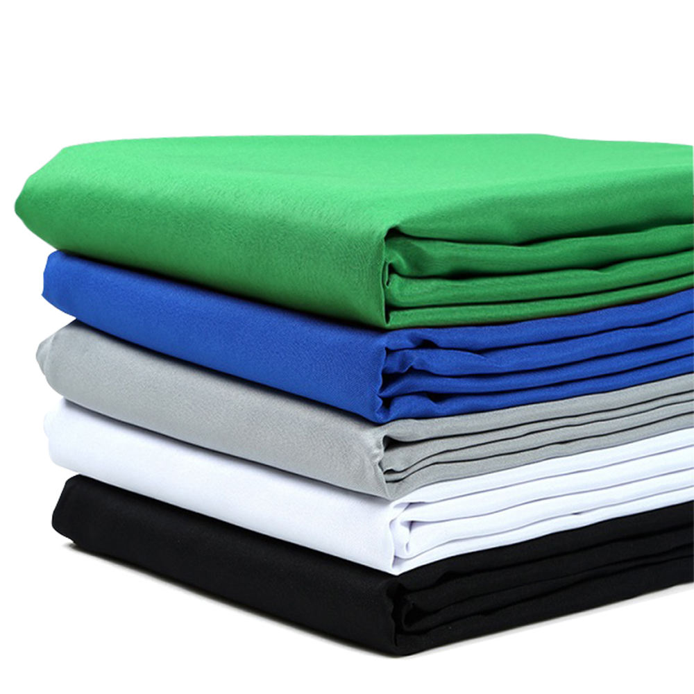 E-IMAGE MB36 Muslin Background 3*6m Photography Backdrop Green Screen For Photo Studio White Black Blue