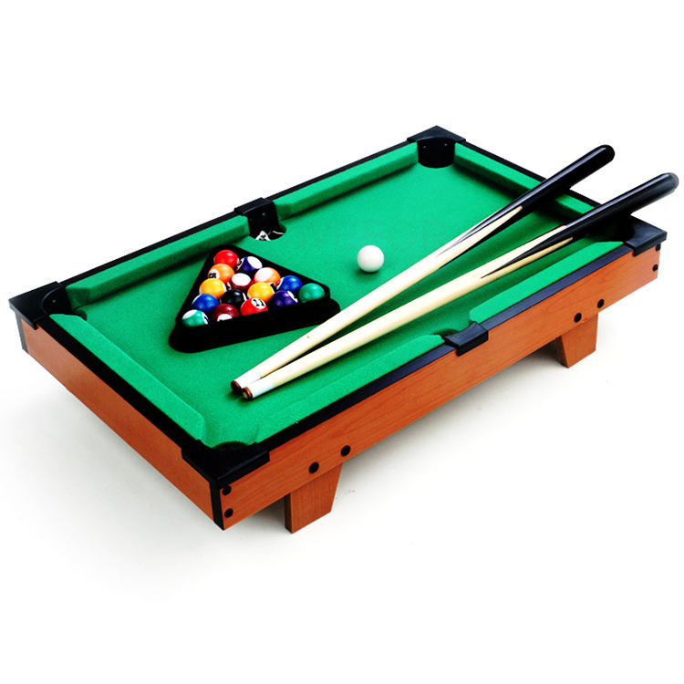 Factory Hot Koop Indoor Mini Snooker Pool Biljart Voor Kinderen Desktop Biljart Kids Gift Tafelblad Zwembad Ballen Sets