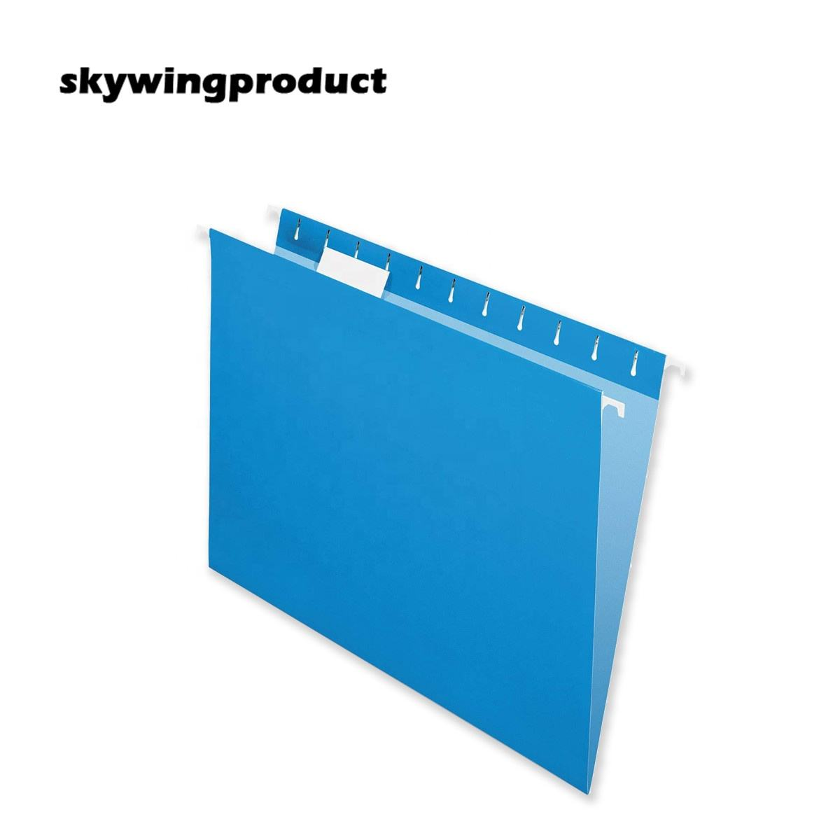 Skywingproduct 친환경 사무실 25 개/상자 편지 <span class=keywords><strong>크기</strong></span> 1/5 컷 1/3 컷 탭 11PT 블루 컬러 <span class=keywords><strong>파일</strong></span> 폴더