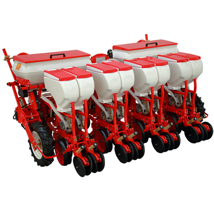 Air-suction vacuum pneumatic corn maize onion soybean tractor precision planter seeder corn machine 4/6 rows with factory prices