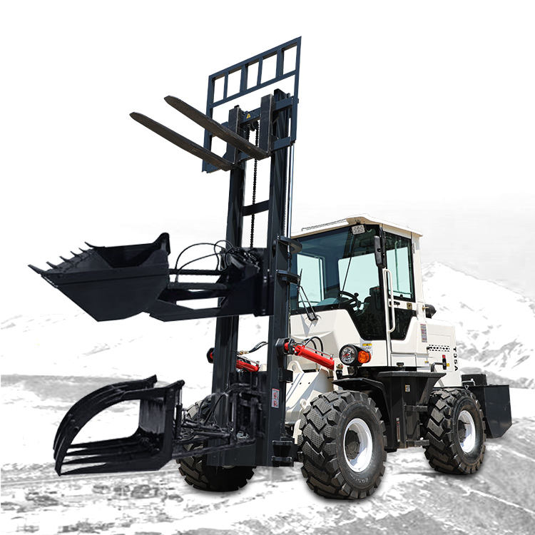ATV Mounted Forklift All Terrain Mini China Forklift For Sale in The Philippines