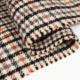 Fabric Wool Tartan Plaid Women Coat Fabric Wool Polyester Blend Houndstooth Fabric
