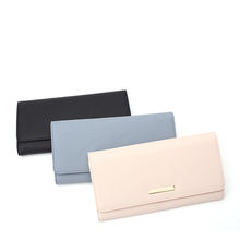 Minimalist Ladies Purse Wrist Wallet Women RFID Women Purse Clutch Wallet