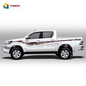 2020 hilux car accessories hilux diesel pickup 4x4 body door decals removable waterproof car stickers