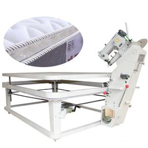 Semi automatic mattress quilt tape edge sewing binding machine for sale