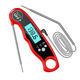 Meat Thermometer Digital Meat Thermometer 2020 Newest Dual- Probe Digital Instant Read Meat Thermometer With Alarm Function