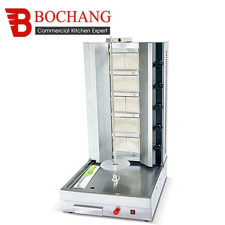 Counter top Stainless Steel Auto Gas Doner/Kebab Shawarma Grill Machine