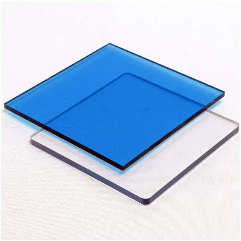 PC Flat Panel for Sound Barrier Clear Polycarbonate Solid Sheet