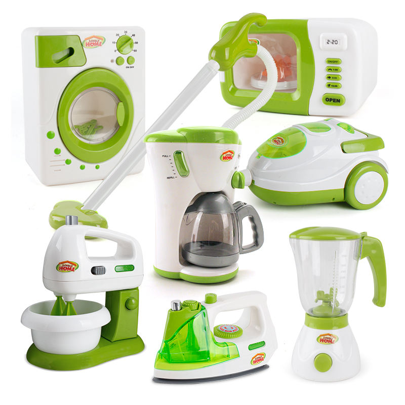 Green Appliances Play House Educational Pretend Kitchen Toys For Kid