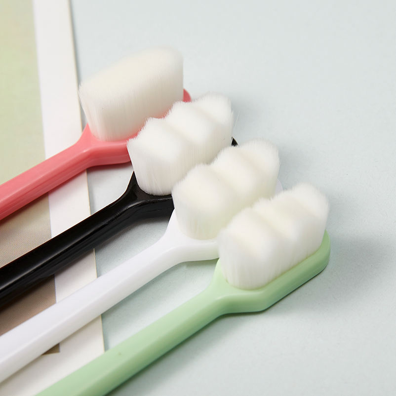 Factory wholesale tooth brush Nano super soft fiber teeth brush cleaning brush for tooth