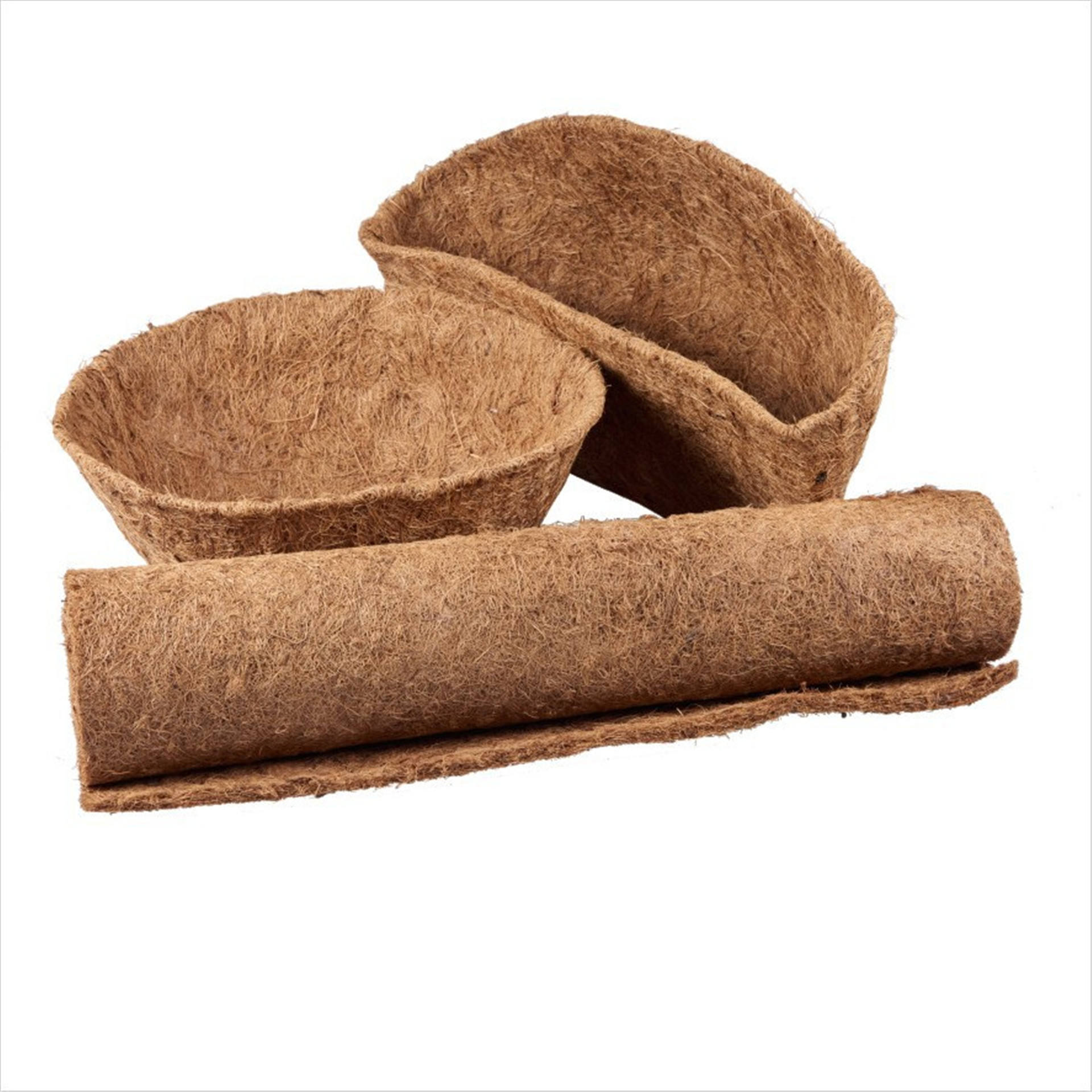 Wholesale Decorative Coco Coir Hanging Basket Liners Planters