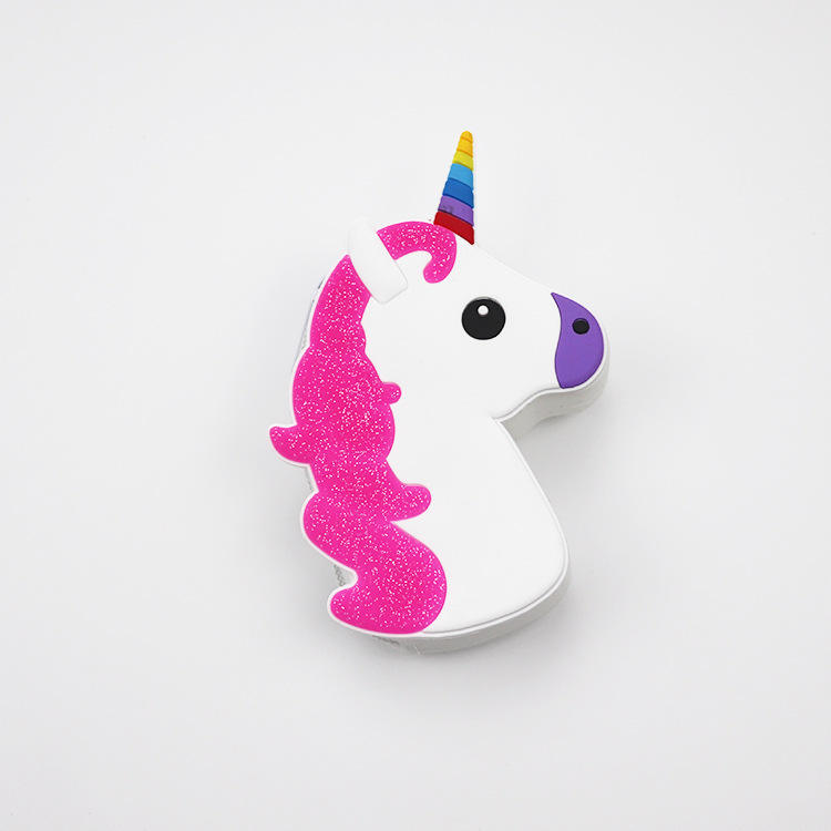 Candy Color Silicone Coin Purse High Quality Unicorn Shape Silicone Coin Purse