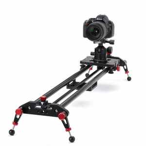 Carbon Fiber Video Kamera Slider Dolly Folgen Fokus Lager Slider 60cm