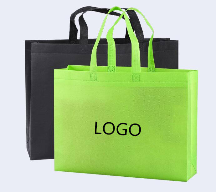 Hot sell eco friendly biodegradable reusable shopping bolsas ecologicas non-woven tote ecological bag with LOGO custom