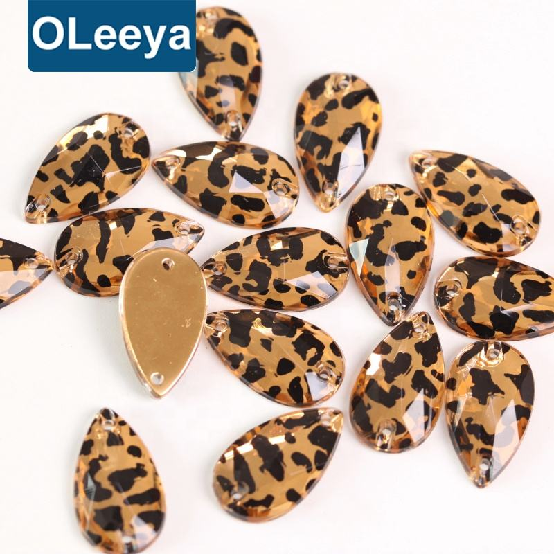 OLeeya Factory Wholesale Cheap Price Acrylic Sew On Stones Sewing Rhinestones For Garment