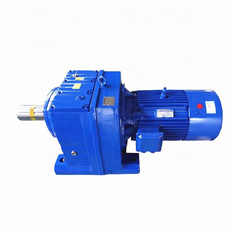R series 1 60 rpm low speed reducer sewing machine electric gearbox motor 5hp helical gear motor