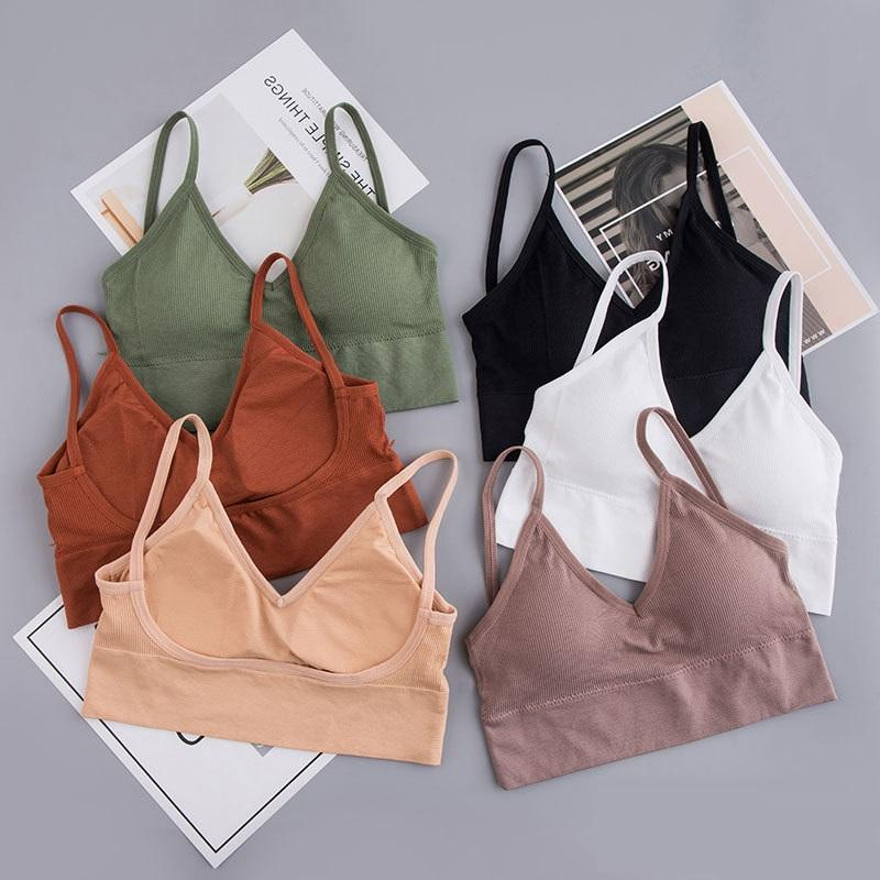Korea Hot Selling Design Front V Big U Back No Wire Fashion 24 Hours Wearing Bra for Women