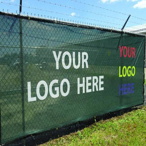 12m x 2m 18m x 2m tennis court windscreen with logo,Woven HDPE 180gsm privacy screen