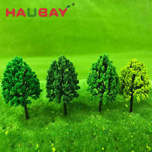 Plastic/Wired Fake Mini Coconut Modelling Of The Mixed Scale Miniature Model Train Tree Plain Ho For Model Architecture Cheap