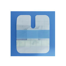 Breathable Iv Medical Transparent Adhesive Island Dressing