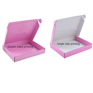 low moq 12x12x3 inch tucked box private label mailers boxes customized