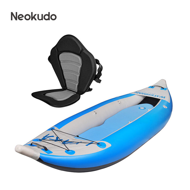 2020 popular design inflatable PVC kayak inflatable canoe 2 person seats
