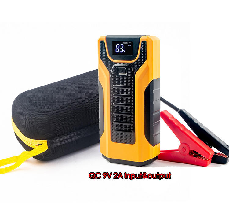 Mobile Portable Mini Jump Starter 12000mAh Car Jumper 12V Booster Power Battery Charger Phone Laptop Power Bank