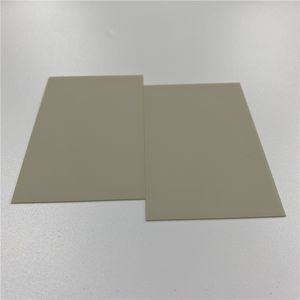 High Temperature Insulating Ceramic ALN disk Aluminum Nitride Ceramic Plate