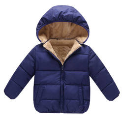 Blue Color Full Sleeves Export Oriented Jacket For Baby From Bangladesh
