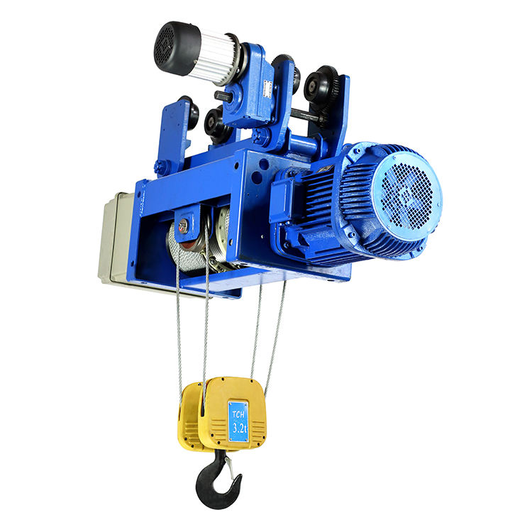 Vision Used Winch Cd1 Electric Wire Rope Pipe Hoist Crane For Sale